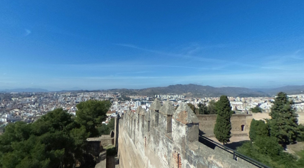 muralla castillo de gibralfaro