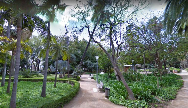 plantas paseo del parque de málaga
