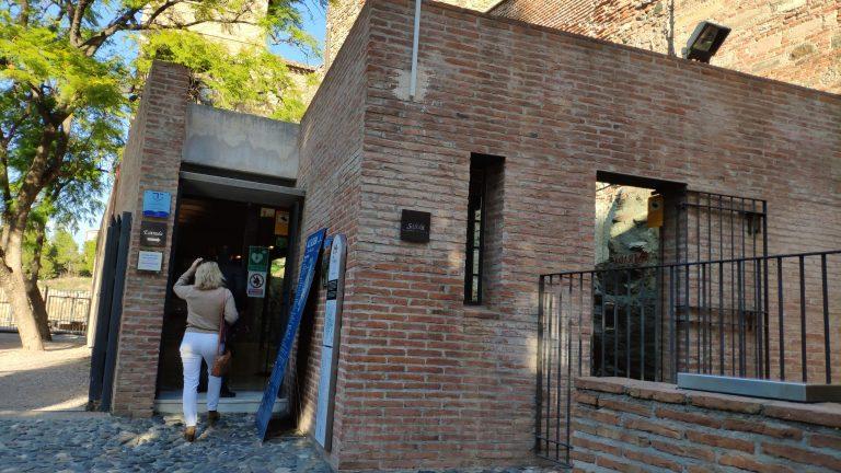 entrada alcazaba de málaga