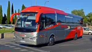 autobus caminito del rey