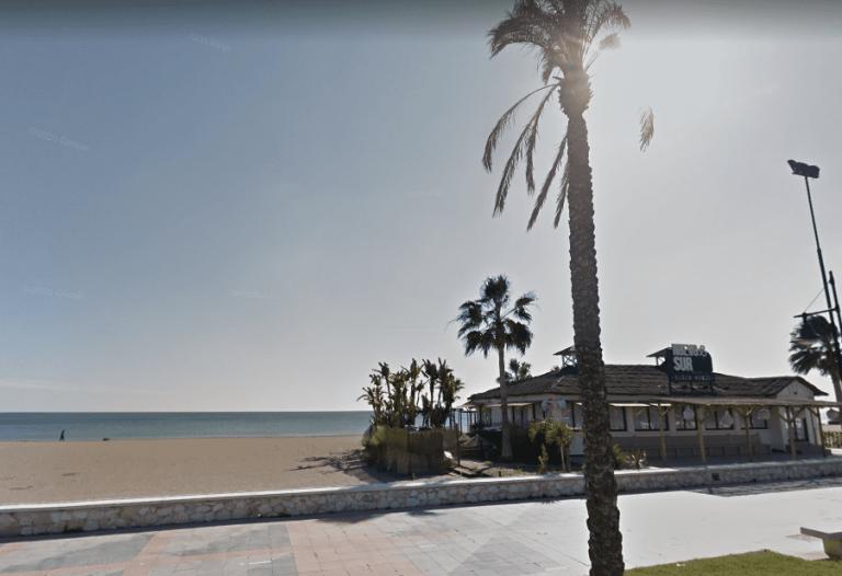 playa de los alamos en torremolinos