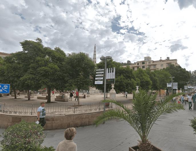 plaza de la merced de malaga