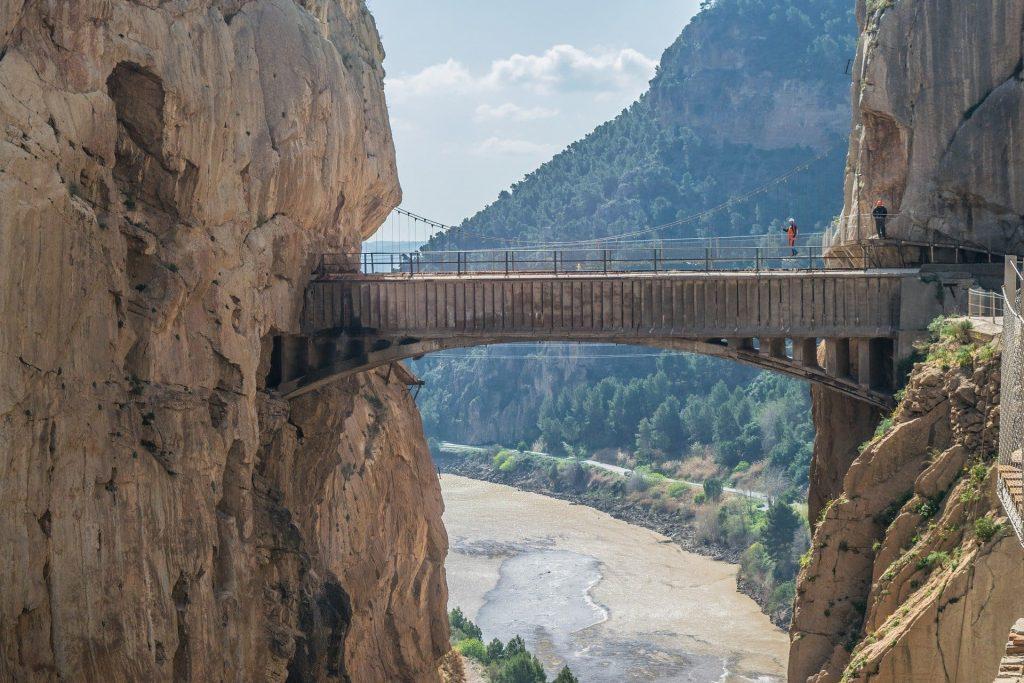 antiguo puente caminito del rey